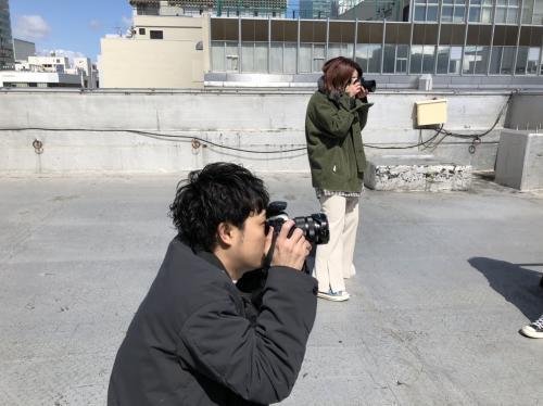 一眼やiPhoneでの撮影方法も勉強できます☆